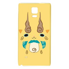 Komajirou Reverse Print Galaxy Note 4 Back Case by JibanyannYokai