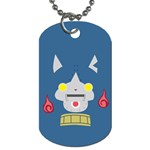 Robonyann Reverse Print Dog Tag (One Side) Front