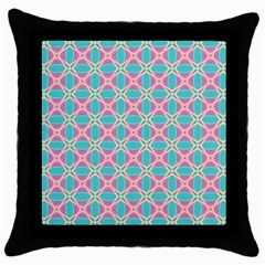 Cute Pretty Elegant Pattern Throw Pillow Cases (black) by creativemom