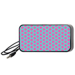 Cute Pretty Elegant Pattern Portable Speaker (black)  by creativemom