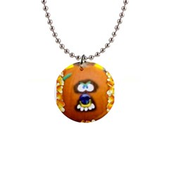 Ghoulie Button Necklaces