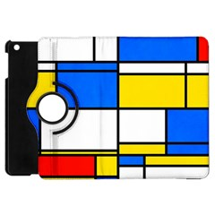 Colorful Rectangles Apple Ipad Mini Flip 360 Case by LalyLauraFLM