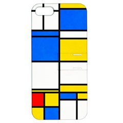 Colorful Rectangles Apple Iphone 5 Hardshell Case With Stand by LalyLauraFLM