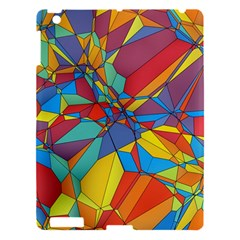 Colorful Miscellaneous Shapes Apple Ipad 3/4 Hardshell Case by LalyLauraFLM