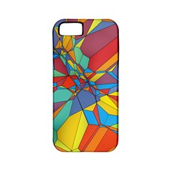 Colorful Miscellaneous Shapes Apple Iphone 5 Classic Hardshell Case (pc+silicone) by LalyLauraFLM