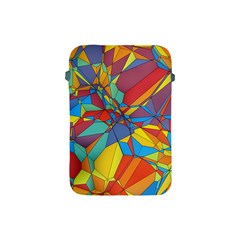 Colorful Miscellaneous Shapes Apple Ipad Mini Protective Soft Case by LalyLauraFLM