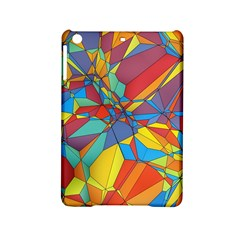 Colorful Miscellaneous Shapes Apple Ipad Mini 2 Hardshell Case by LalyLauraFLM