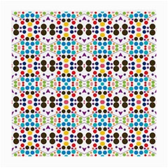 Colorful Dots Pattern Medium Glasses Cloth (2 Sides) by LalyLauraFLM