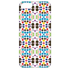 Colorful Dots Pattern Apple Iphone 5 Classic Hardshell Case by LalyLauraFLM