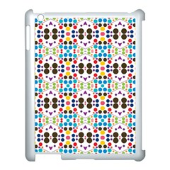 Colorful Dots Pattern Apple Ipad 3/4 Case (white) by LalyLauraFLM