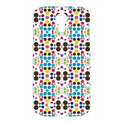 Colorful Dots Pattern Samsung Galaxy S4 I9500/i9505 Hardshell Case by LalyLauraFLM