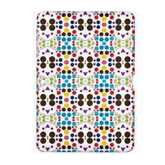 Colorful Dots Pattern Samsung Galaxy Tab 2 (10 1 ) P5100 Hardshell Case  by LalyLauraFLM