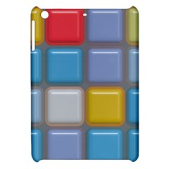 Shiny Squares Pattern Apple Ipad Mini Hardshell Case by LalyLauraFLM