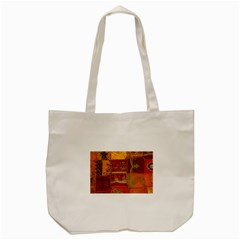 India Print Realism Fabric Art Tote Bag (cream)  by TheWowFactor