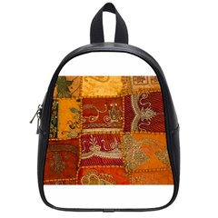 India Print Realism Fabric Art School Bags (small)  by TheWowFactor