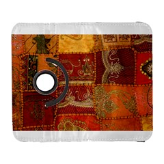 India Print Realism Fabric Art Samsung Galaxy S  Iii Flip 360 Case by TheWowFactor