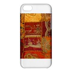 India Print Realism Fabric Art Apple Iphone 5c Hardshell Case by TheWowFactor