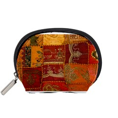 India Print Realism Fabric Art Accessory Pouches (small)  by TheWowFactor