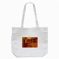 India Print Realism Fabric Art Tote Bag (white)  by TheWowFactor