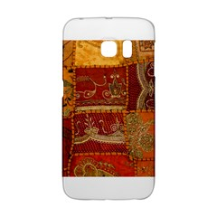 India Print Realism Fabric Art Galaxy S6 Edge by TheWowFactor