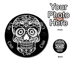 Skull Playing Cards 54 (round)  by ImpressiveMoments