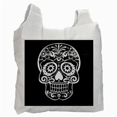 Skull Recycle Bag (one Side)