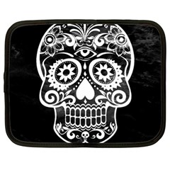 Skull Netbook Case (xl)  by ImpressiveMoments