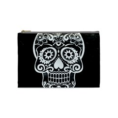 Skull Cosmetic Bag (medium)  by ImpressiveMoments
