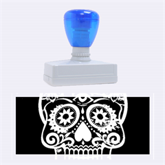 Skull Rubber Stamps (large) by ImpressiveMoments