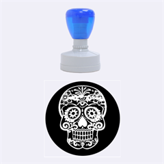Skull Rubber Round Stamps (medium)