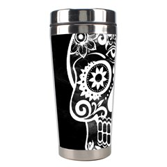 Skull Stainless Steel Travel Tumblers by ImpressiveMoments