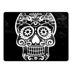 Skull Double Sided Fleece Blanket (small)