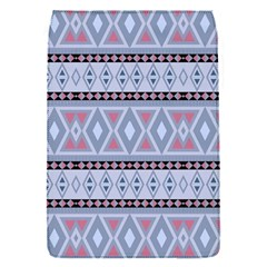 Fancy Tribal Border Pattern Blue Flap Covers (s)  by ImpressiveMoments
