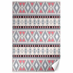 Fancy Tribal Border Pattern Soft Canvas 20  X 30