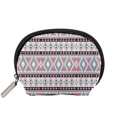 Fancy Tribal Border Pattern Soft Accessory Pouches (small)