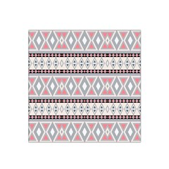 Fancy Tribal Border Pattern Soft Satin Bandana Scarf