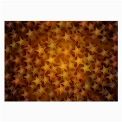 Gold Stars Large Glasses Cloth (2-side) by KirstenStar