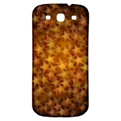 Gold Stars Samsung Galaxy S3 S Iii Classic Hardshell Back Case by KirstenStar
