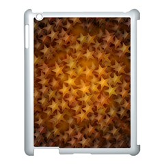 Gold Stars Apple Ipad 3/4 Case (white) by KirstenStar