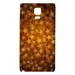 Gold Stars Galaxy Note 4 Back Case by KirstenStar