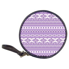 Fancy Tribal Borders Lilac Classic 20 Cd Wallets by ImpressiveMoments