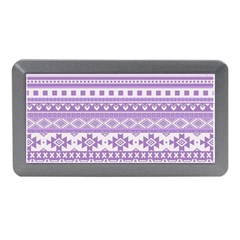 Fancy Tribal Borders Lilac Memory Card Reader (mini) by ImpressiveMoments