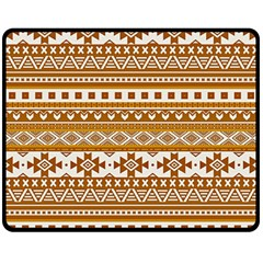 Fancy Tribal Borders Golden Fleece Blanket (medium)  by ImpressiveMoments