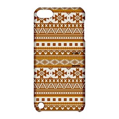 Fancy Tribal Borders Golden Apple Ipod Touch 5 Hardshell Case With Stand