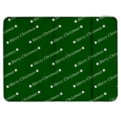 Merry Christmas,text,green Samsung Galaxy Tab 7  P1000 Flip Case by ImpressiveMoments