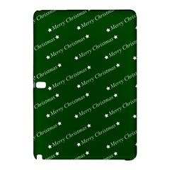 Merry Christmas,text,green Samsung Galaxy Tab Pro 10 1 Hardshell Case by ImpressiveMoments