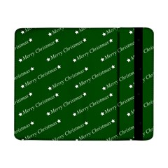 Merry Christmas,text,green Samsung Galaxy Tab Pro 8 4  Flip Case