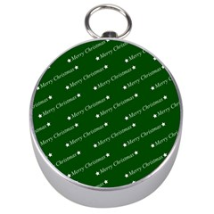 Merry Christmas,text,green Silver Compasses by ImpressiveMoments