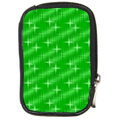 Many Stars, Neon Green Compact Camera Cases by ImpressiveMoments