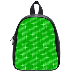 Many Stars, Neon Green School Bags (small)  by ImpressiveMoments